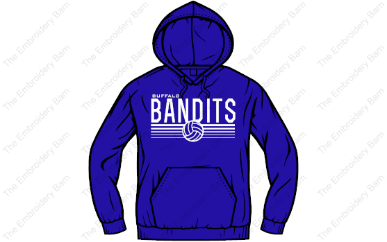 Bandit Volleyball 2019 hoodie