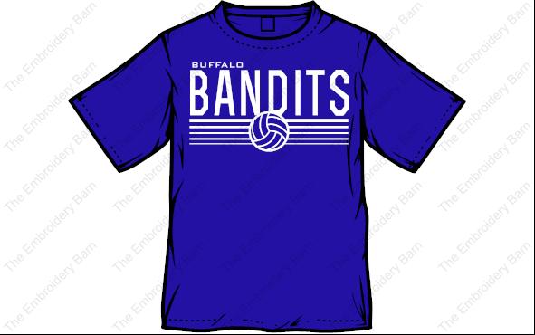 Bandit Volleyball 2019 tee