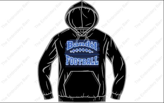 Bandit football 2019 hoodie