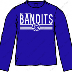Bandit volleyball 2019 LS tee