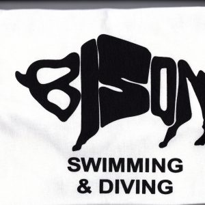 Bison Swimming and Diving