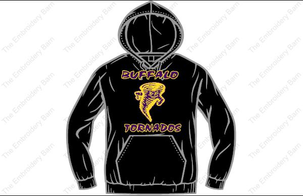 Buffalo Tornado hoodie