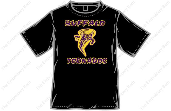 Buffalo Tornados t-shirt front
