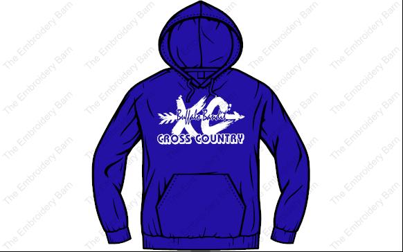 Cross Country 2019 hoodie