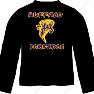 buffalo tornados long leeve t