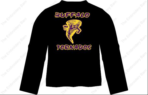 buffalo tornados long leeve t