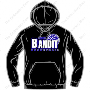 lady bandit basketball sweatshirt